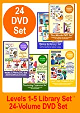 BumbleBee Kids Library Set - 24 DVDs, Includes the Levels 1-5 Sets