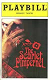 img - for Playbill, Minskoff Theatre: The Scarlet Pimpernel, October 1997, Volume 97, Number 10 (Christine Andreas, Terrence Mann, Douglas Sills) book / textbook / text book
