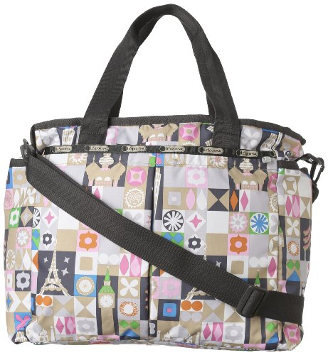 b49fd77e1 LeSportsac Ryan Baby Pouch Diaper Bag Global Journey One Size ...