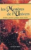 echange, troc L Parravicini, L Viazzo - Les mystères de l'univers