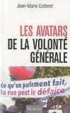 echange, troc Jean-Marie Cotteret - Les avatars de la volonté générale