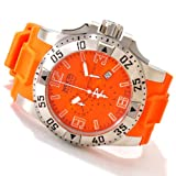Invicta Mens Reserve Collection Excursion Swiss Made Chronograph Orange Watch 1410