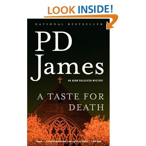 A Taste for Death (Adam Dalgliesh Mysteries, No. 7)