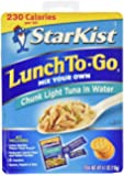 StarKist Tuna Lunch To-Go, Chunk Light Tuna in Water, 4.1 Ounce (Pack of 12)