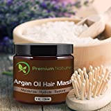 Argan-Oil-Hair-Repair-Mask-8-oz-100-Organic-Oils-Condition-and-Restore-Damaged-Dry-Color-Treated-Hair-Works-For-All-Hair-Types-By-Premium-Nature