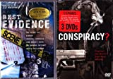The History Channel Conspiracy Theory 12 Episode Collection : TWA Flight 800 , Majestic Twelve UFO Cover-up , FDR and Pearl Harbor , Area 51 , Who Killed Martin Luther King Jr  , Princess Diana , Lincoln Assassination , Oklahoma City Bombing, CIA and the