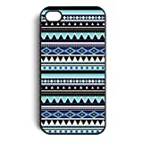 Aztec Tribal Pattern Snap On Case Cover for Apple iPhone 4 iPhone 4s