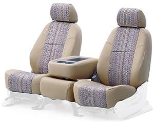 Coverking Rear Custom Fit Seat Cover for Select Subaru Outback Models - Saddleblanket  (Tan)