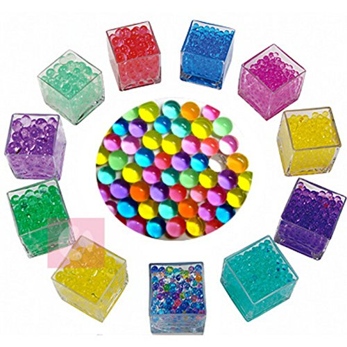 Magic Plant Flower Crystal Mud Soil Beads Wedding Decor 10Bags Color Random (Small Jelly Beads compare prices)