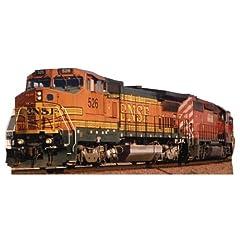 BNSF Train 526 Locomotive Lifesize Standup Poster