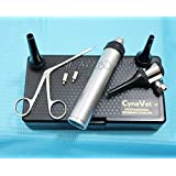 New CYNAMED LED Veterinary Otoscope Kit + 1 Alligator Forcep + 1 Bulb