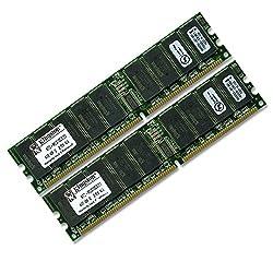 Kingston Technology 2GB (2 x 1GB) 184-Pin PC2100 266Mhz DDR ECC Registered Server RAM Upgrade