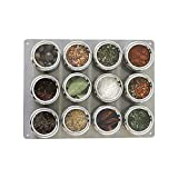 Lipper International SOHO 12-Piece Small Board Shaker Set, Stainless Steel 6512