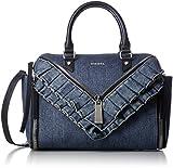 (ディーゼル) DIESEL レディース デニム ハンドバッグ LE-ZIPPER LE-TRASY - handbag X04315P1214 H1940 UNI