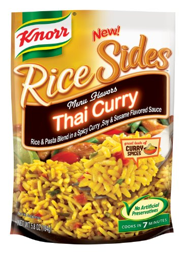 Knorr Rice Sides, Thai Curry, 5.8 Ounce (Pack Of 12)