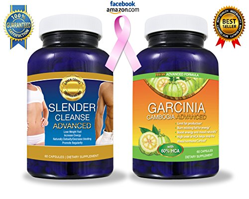 Pure Garcinia Cambogia Extract PLUS Detox Cleanse (BEST SELLERS BUNDLE!) –LOOK AT OUR REVIEWS!!! All Natural Garcinia Cambogia Advanced With The TV Doctor's Required 60% HCA Formula Perfectly Matched to THE Premium Slender Cleanse Advanced Colon Cleanse for FAST RESULTS to Help You Lose Weight! – 2 BEST SELLING PRODUCTS FOR THE PRICE OF 1! (DIET KIT) – 'Get Slim Fast' – -A to Z 100% Satisfaction Guarantee! – – Click The 'ADD TO CART' Button to the Right!