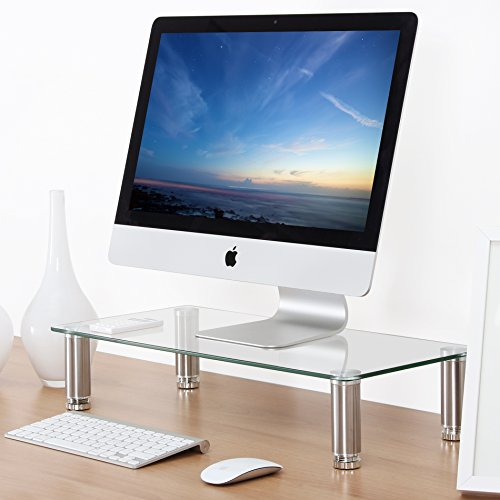 Fitueyes clear Computer Monitor Riser 4.7