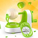 ROFISA Professional Fruit Peeler Corer in Seconds with Excellent Precision, with Super Sharp Antirust Stainless Steel Blade and Stable Suction Base, Also for Apple Pear Potatoes etc
