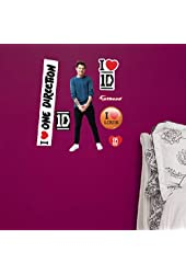 """One Direction 2014 Fathead(Peel and Stick Wall Sticker/Decal) Logosheet- 12""""x17""""-Louis Tomlinson"""