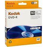 Kodak 50106 DVD-R 4.7GB/120 Minutes 16X, 10 Count