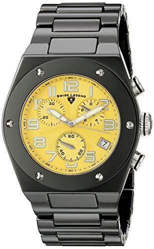 swiss-legend-mens-10028-bkysa-throttle-chronograph-black-ceramic-watch-with-yellow-dial