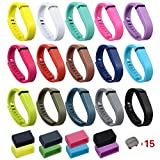 i-smile Replacement Bands with Metal Clasps for Fitbit Flex / Wireless Acti ....