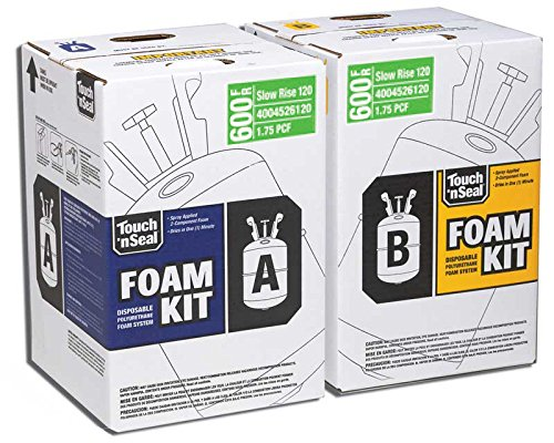 Two-Component Class I Fire Retardant Slow Rise Polyurethane Spray Foam Insulation Kit 600 Board Feet FK-600-SR, 1.75 PCF (Slow Rise Spray Foam compare prices)