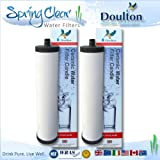 2 Pack - Franke Triflow Compatible Filter Cartridges By Doulton M15 Ultracarb (NO Import Duty or Taxes to pay on this product)