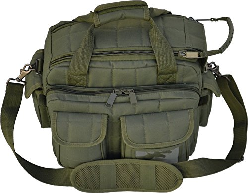 Explorer Tactical 12 Pistol Padded Gun and Gear Bag OD Green (Tactical Padded Belt compare prices)