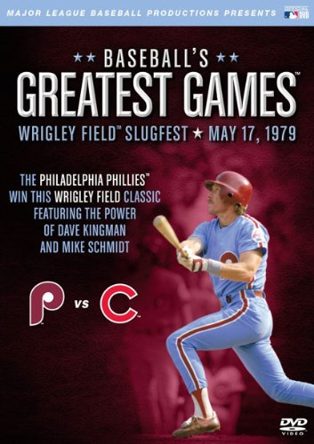 Baseballs Greatest Games: 1979 Wrigley Field Slugfest at Amazon.com