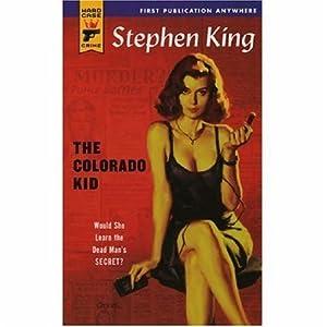 """Cover of """"The Colorado Kid (Hard Case Cri..."""