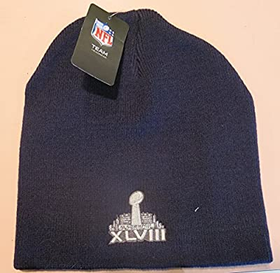 Denver Broncos Navy Blue Cuffed Knit Beanie Hat
