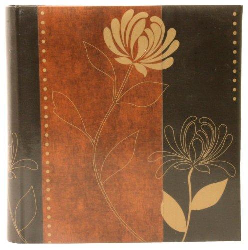 Fantaisie Nature Erica Album photo à pochette numérique Flowies 2 Marron clair pour 200 photos 11.5x15, Album Photo Er