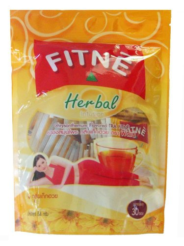 Fitne Herbal Sliming Tea : Chrysanthemum 42G(15Bags)X3 Packs