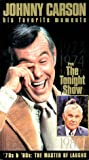 Johnny Carson - His Favorite Moments from The Tonight Show - 70s & 80s, The Master of Laughs [VHS]