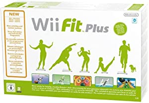 Nintendo Wii Fit Plus with Balance Board - White (Wii)