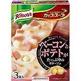 味の素 クノールカップスープ ベーコンとポテトがたっぷりのポタージュ 48.3g×4個