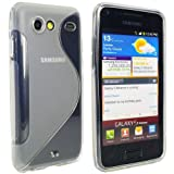 Schutzhlle TPU Hard Case fr Samsung Galaxy S Advance I9070 - S Curve - Transparentvon &#34;KJ-Vertrieb&#34;
