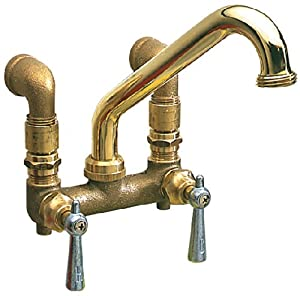 ... Utility Faucet, Polished Brass, Wall or Sink Mount - Utility Sink
