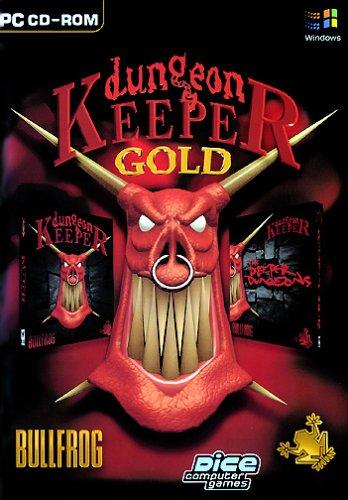 Dungeon Keeper & DK-Gold Deutsche  Menüs, Stimmen / Sprachausgabe Cover