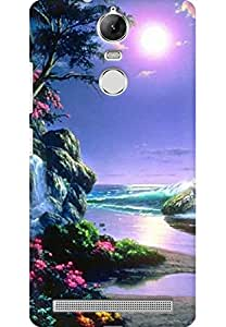 AMEZ designer printed 3d premium high quality back case cover for Lenovo K5 Note (paradise)