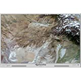Afghanistan from Space, Photograph Poster