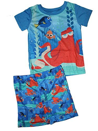 Disney Finding Dory Little Boys Shorts Pajamas Set