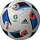 adidas(アディダス)EURO2016 ルシアーダ キッズ サッカーボール4号球 ジュニア 小学生用 検定球 AF4150 WHT F