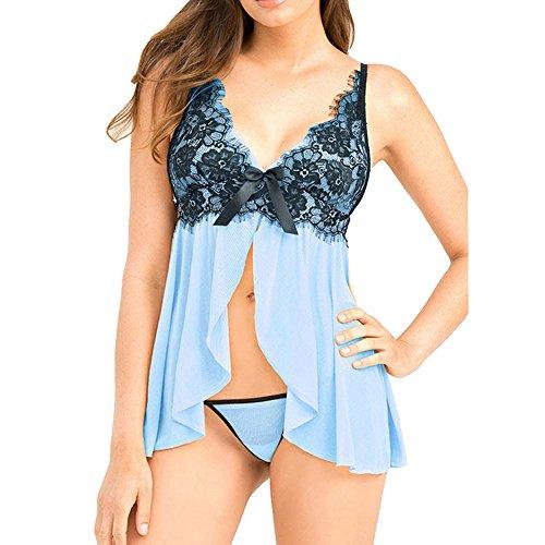 Batedan - Vestaglia -  donna Blu Blue - blu