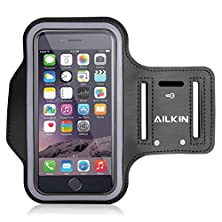 buy Pro Sport Armband, Ailkin Running Sports Armband For Iphone 5/5S/5C, 4/4S, Ipod Touch Best For Workouts, Running, Cycling, Or Any Fitness Activity Outside Or In The Gym, Room For Cash/Card Too, Black