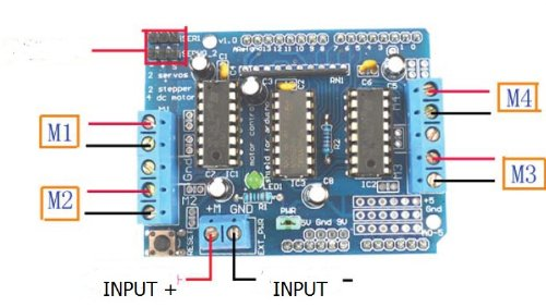 Zitrades Zitrades L293d Motor Drive Shield For Arduino