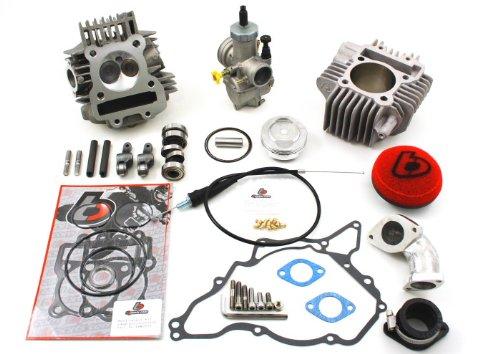 TB DRZ & KLX 110 165cc Bore Kit, Race Head V2 w/ 28mm Carb Kit