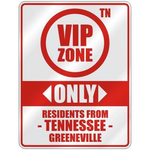 Greeneville Parking Sign
