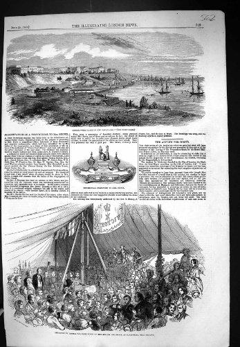 1853 Odessa Harbour Boulevard Ceremony Stone Asylum Earlswood Reigate